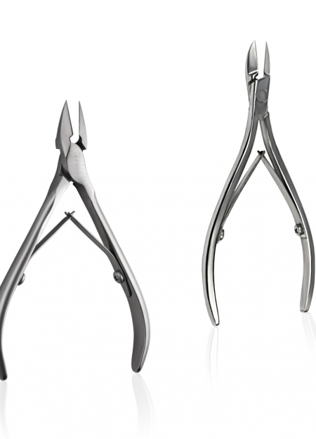 Sharpen nail clippers